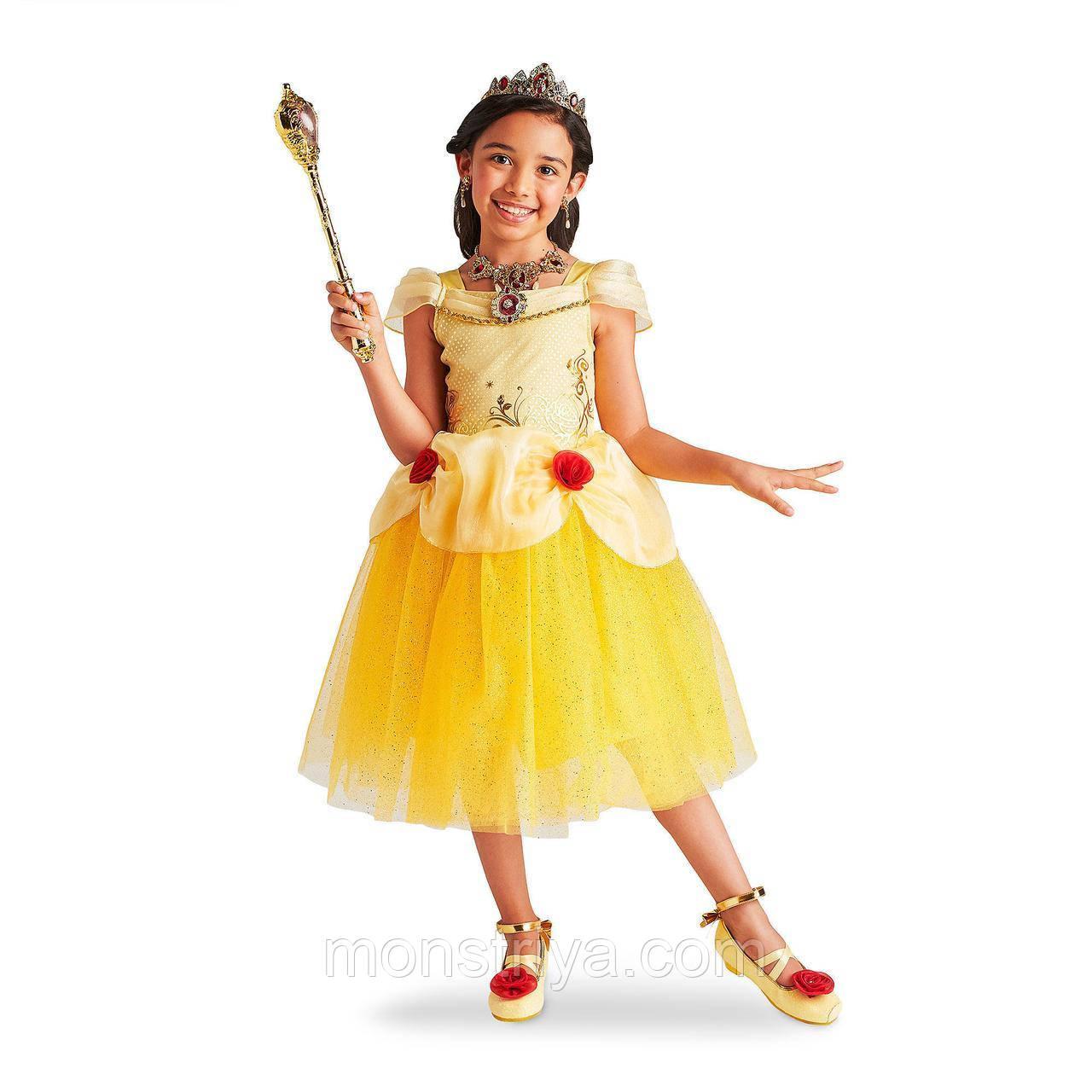 Карнавальний костюм принцеси Бель «Красуня і чудовисько» Disney