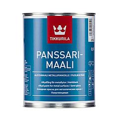 Алкидная фасадная краска Tikkurila Panssari-maali