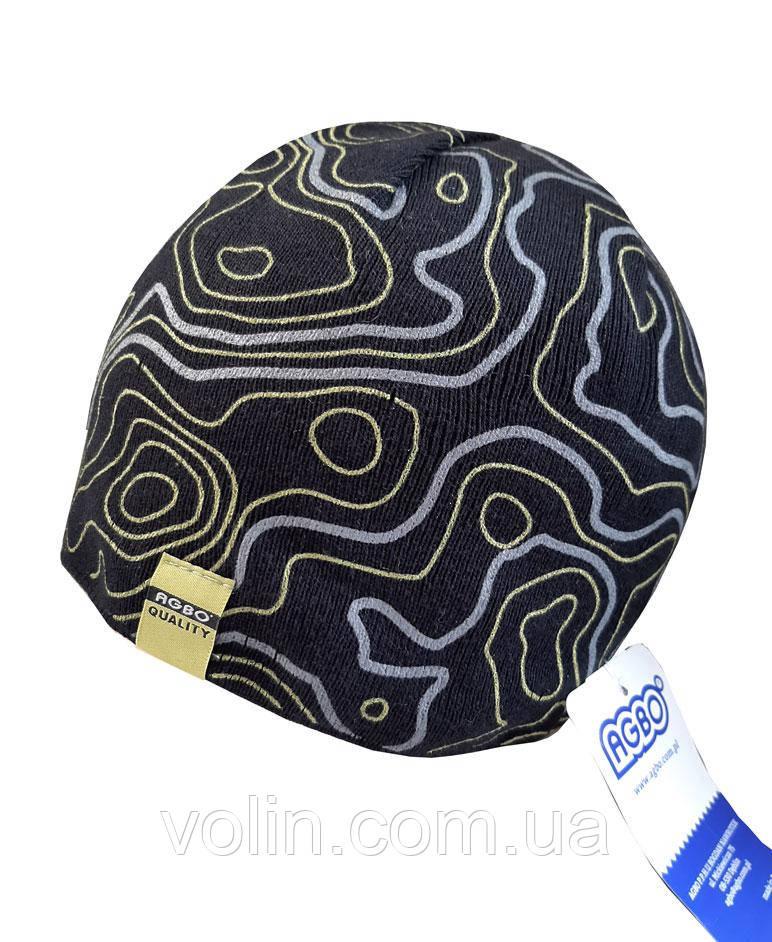 Шапка мужская зимняя вязаная Agbo Madox.