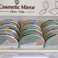 Детские круглые косметические зеркала для девочек с узором