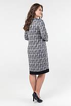 Стильное женское  платье  батал   52-62 размер, фото 2
