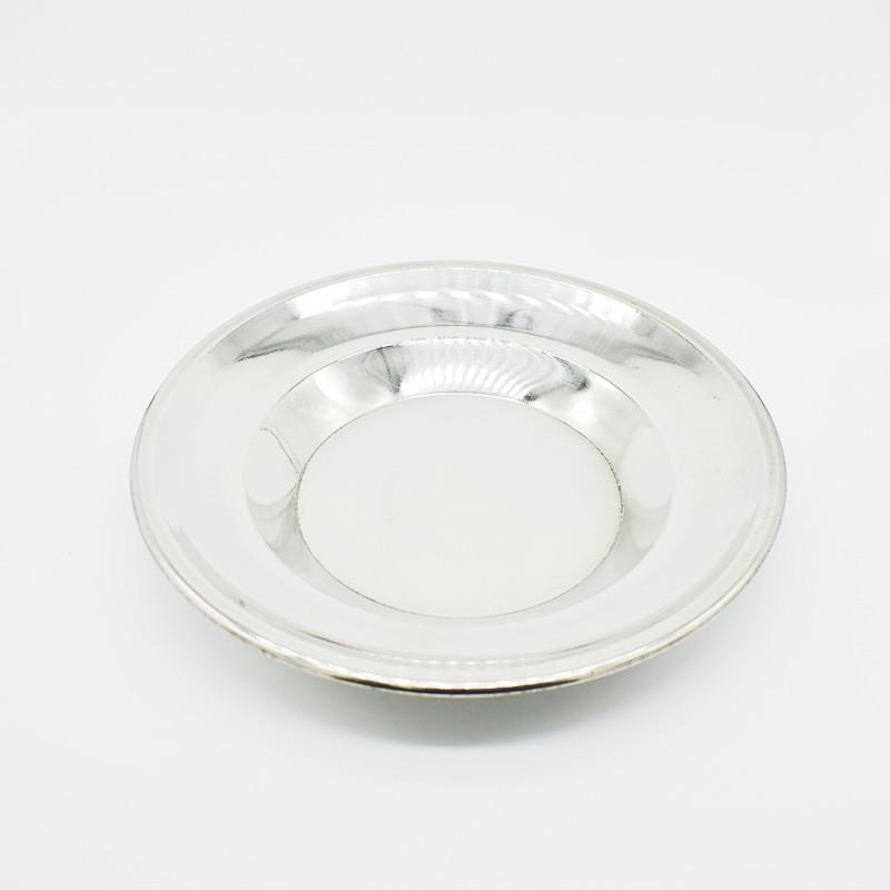 Тарелка металлическая 22см