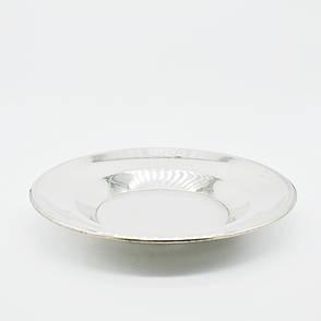 Тарелка металлическая 22см, фото 2