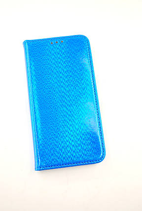 Чехол-книжка Flip Cover for Samsung M20/M205 (2019) Chameleon Blue, фото 2
