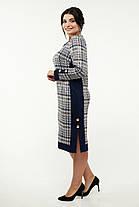 Стильное женское  платье  батал   52-62 размер, фото 3