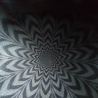 Эко сумка  хозяйственная с замочком надпись маргаритка зеленая (спанбонд), фото 1