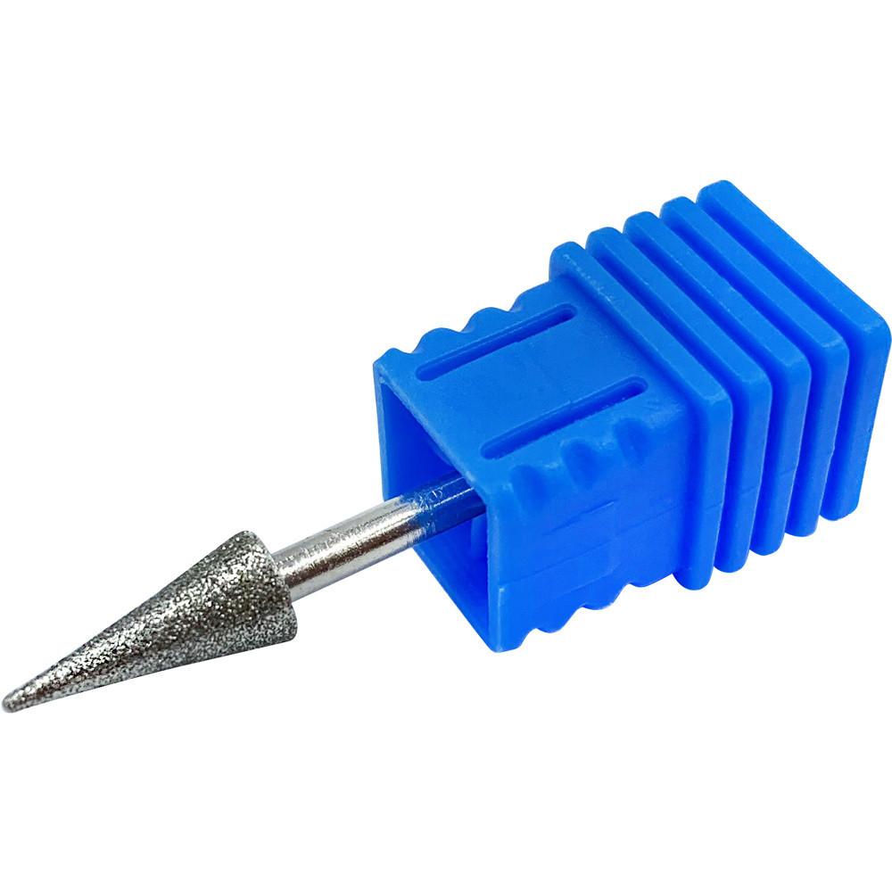 Насадка для фрезера алмазная конус,синяя