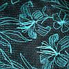 Эко сумка  хозяйственная с замочком надпись кактус на серен.фоне(спанбонд)