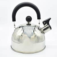 """Чайник зі свистком для газової плити """"А-Плюс"""" 1318 1л"""