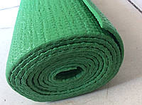 Йога мат 6 мм зелений (килимок для йоги та фітнесу), фото 1