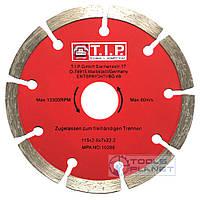 Алмазный диск T.I.P. 115 х 7 х 22,23 Сегмент, фото 1
