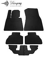 BMW X7 (G07) (6 seats) 2018- Комплект из 6-х ковриков Черный в салон