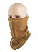 Многофункциональный анатомический шарф-труба Elite флис (270г/м2) цвет койот 40018017, фото 1