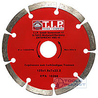 Алмазный диск T.I.P. 125 х 7 х 22,23 Сегмент, фото 1