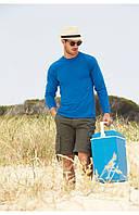 Однотонная мужская футболка лонгслив с длинным рукавом, 8цветов в ассортименте 100% хлопок