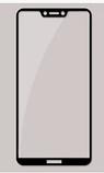 """Комплект черный чехол PZOZ и стекло для Sharp Aquos S3 / D10 (SH-D01) / 6"""" /, фото 8"""