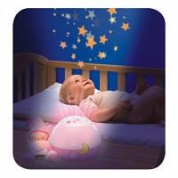 Ночник проектор первые грезы розовый First Dreams Chicco 24271, фото 1