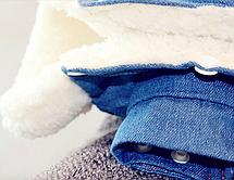 Одежда для маленьких собак модная осенне-зимняя куртка для собак Теплые Комбинезоны для щенка чихуахуа француз, фото 2