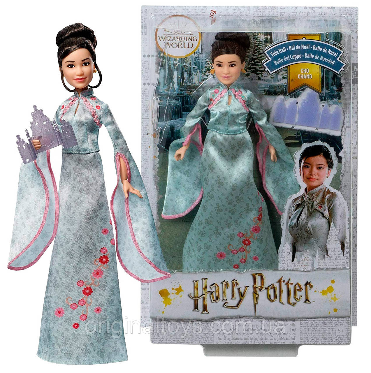 Кукла Чжоу Чанг Святочный бал Cho Chang Harry Potter Yule Ball Mattel GFG16