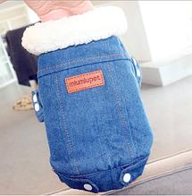Одежда для маленьких собак модная осенне-зимняя куртка для собак Теплые Комбинезоны для щенка чихуахуа француз M