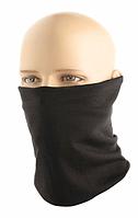 Многофункциональная повязка-бафф Merino Wool 100% шерсть цвет черный (HLI-MWB-BK), фото 1
