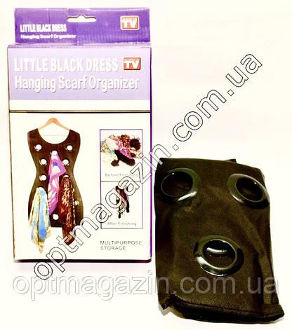 Вішалка органайзер-сукня для шарфів, фото 2