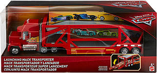 Тачки 3 Трейлер Мак Грузовик (Disney/Pixar Cars Launching Mack Transporter Vehicle)