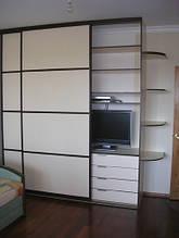 Шкаф-купе с нишей для телевизора