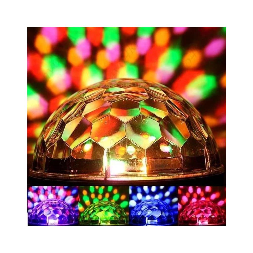 Диско шар MP3 светодиодный LED MAGIC BALL, светодиодный шар