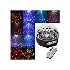 Диско шар MP3 светодиодный LED MAGIC BALL, светодиодный шар, фото 2