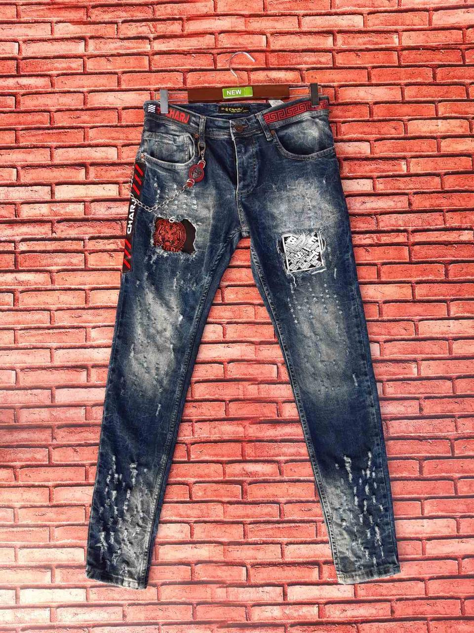 Джинсы мужские молодежные Турция фабричная