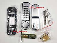 Кодовый замок Lockod врезной-задвижка механический цифровой, фото 1