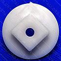 Муфта м'ясорубки Bosch 020470 з отвором d4,8мм (Lкв15,5*15,5), фото 2