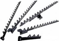 Ножи косы головки к жаткам отечественной и зарубежной техники