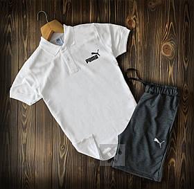 Мужская футболка поло и шорты Пума (Puma)