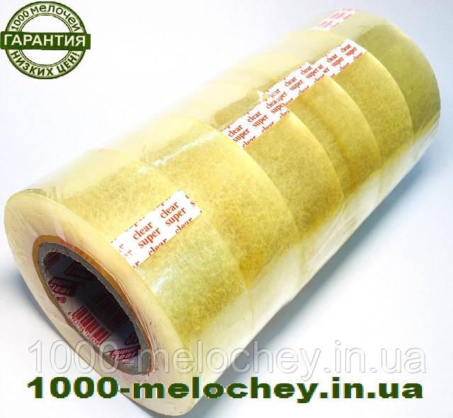 Скотч упаковочный 1000 f (45 мкм * 45 мм) прозрачный