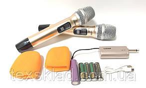 Універсальні бездротові мікрофони для караоке PLATINUM UK-55
