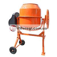 Бытовая венцовая бетономешалка Orange СБ 8160П Бетоносмеситель 160 литров, 650 Вт (Чугунный венец)