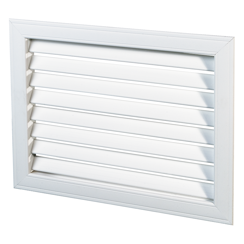 Решетка вентиляционная пластик НГН 600*200 Вентс белая