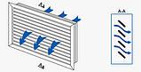 Решетка вентиляционная пластик НГН 600*200 Вентс белая, фото 2