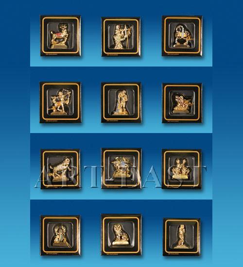 Знак зодиака Козерог в подар.коробке Crystal Temptations, США