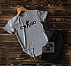 Cпортивные Мужские шорты и футболка c принтом CS Go (counter strike)  / Летние комплекты для мужчин, фото 8