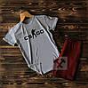 Cпортивные Мужские шорты и футболка c принтом CS Go (counter strike)  / Летние комплекты для мужчин, фото 10