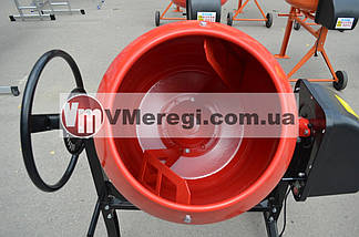 Бетономешалка Forte EW6140P 140 л. 650 Вт (Чугунный венец), фото 2