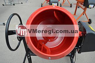 Бетономешалка Forte EW2125P 125 л. 550 Вт (Чугунный венец), фото 2