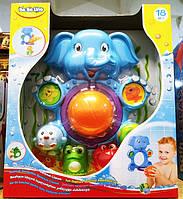 Игрушка для ванной Слоник баскетболист BeBeLino 58111, фото 1