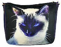 Джинсовая сумка СИАМКА, фото 1