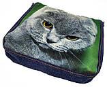 Джинсовая сумка ВИСЛОУШКА, фото 2
