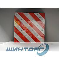 Знак светоотражающий Автовоз, Негабарит на метал. основе (40х40см)