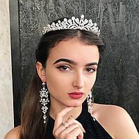"""Шикарная и нежная диадема """"Ламитта"""" для невесты."""